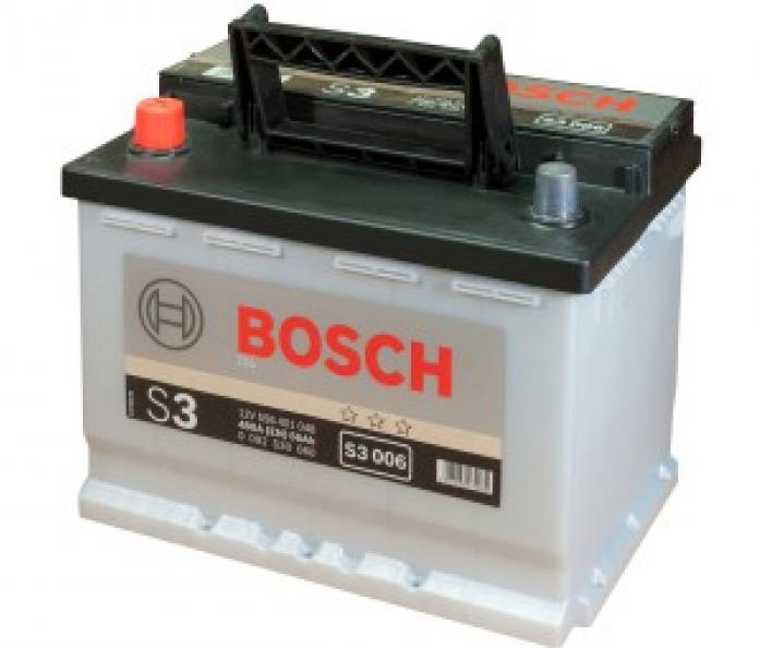 Аккумулятор Bosch 56 A/ч S30 06 242x175x190 EN 480 0 092 S30 060