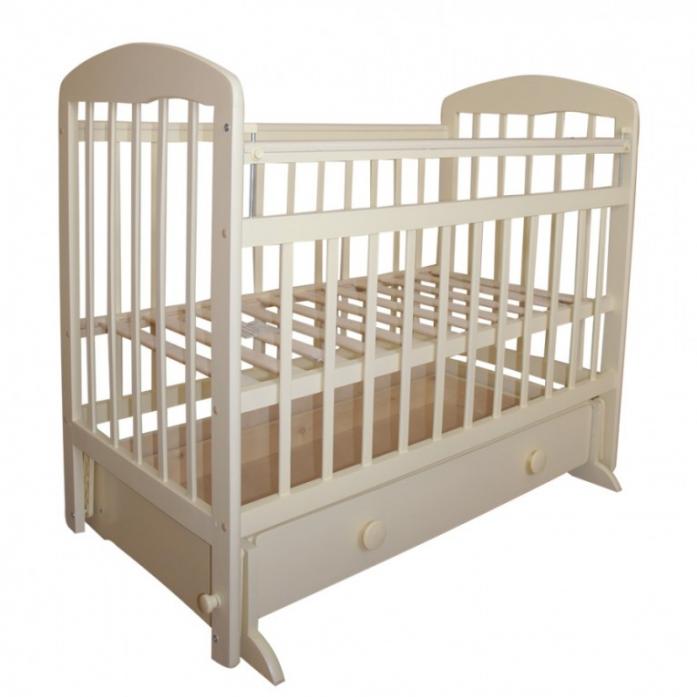 Кровать Ивашка Мой малыш 8 слоновая кость