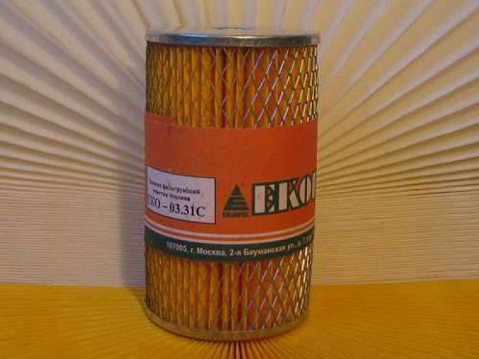 Фильтр топливный EKO 03.31 Камаз, все модели 740-1117040-01