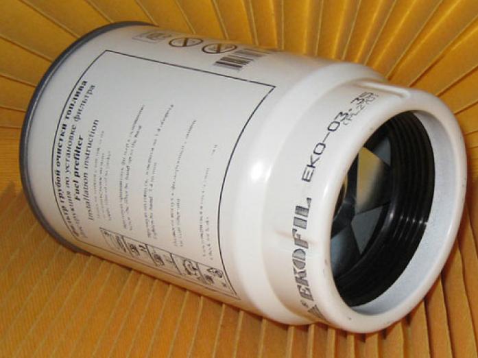 Фильтр топливный EKO 03.35 Камаз-ЕВРО-2 (PL 270) с колбой