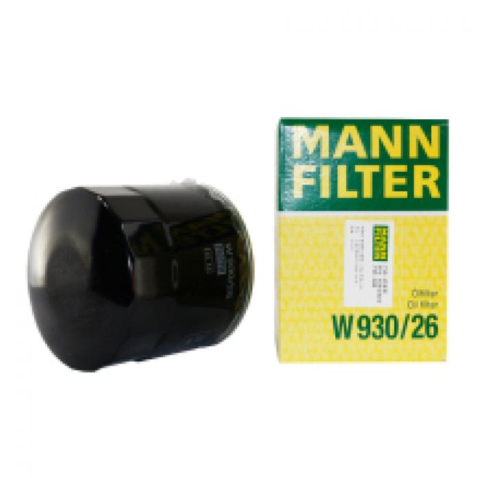 Фильтр масляный MANN W 930/26 Hyundai H-1