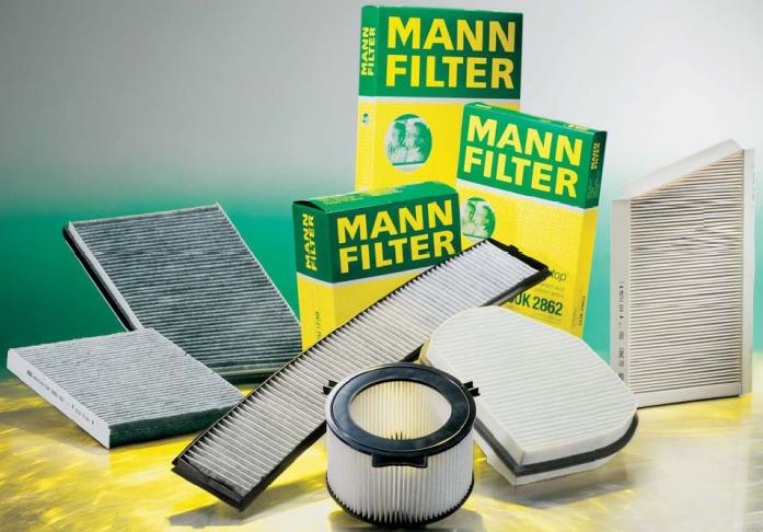 Фильтр салонный MANN CU 26017