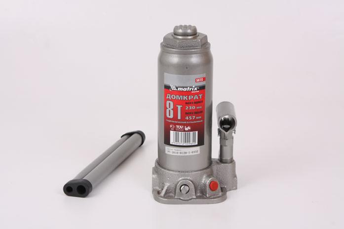 Домкрат гидравлический бутылочный Matrix 50723