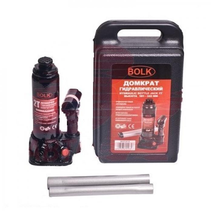 Домкрат гидравлический бутылочный BOLK BK51001S