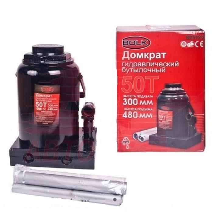Домкрат гидравлический бутылочный BOLK BK51012