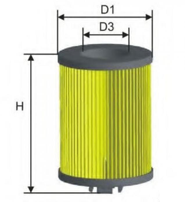 Фильтр масляный MANN HU 7020Z