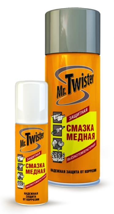 Смазка Mr. Twister медная высокотемпературная (400мл)