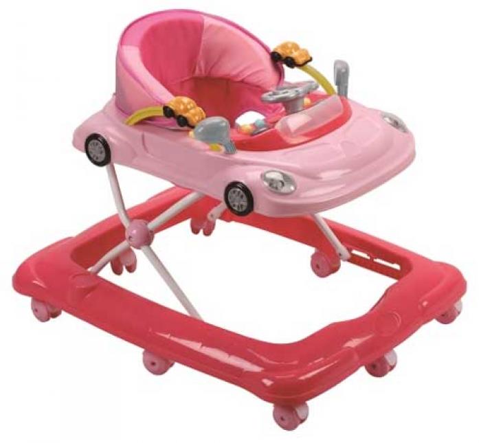 Ходунки Felice Автомобиль розовый 9206а