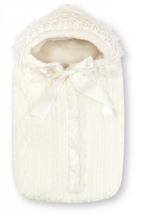 Конверт Сонный Гномик Зимняя Радость молочный 1704