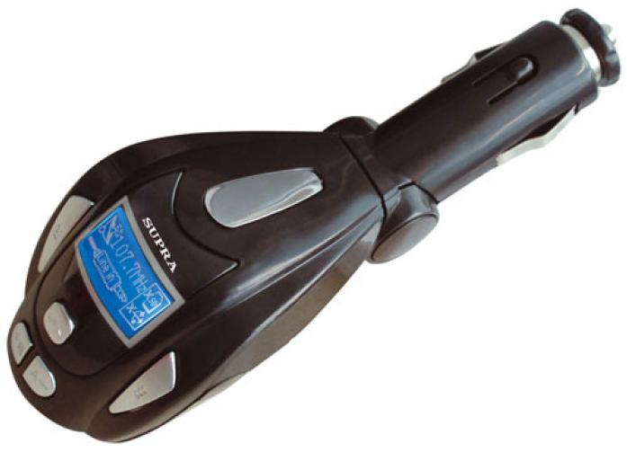 MP3 плеер с FM-модулятором Supra SFM-17U