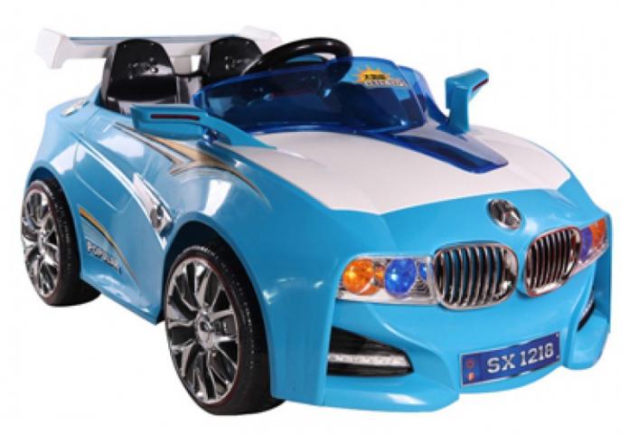 Электромобиль TjaGo BMW-Solar-System голубой 218SX