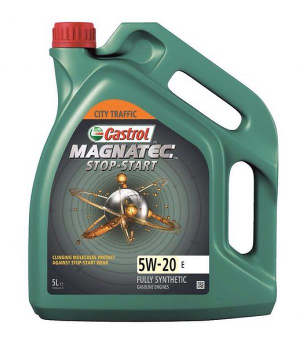 ����� �������� Castrol Magnatec Stop-Start 5W20 E ��� (5�) 156CAF