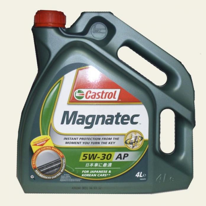 ����� �������� Castrol Magnatec 5w30 AP ��� (4�) 155BA8