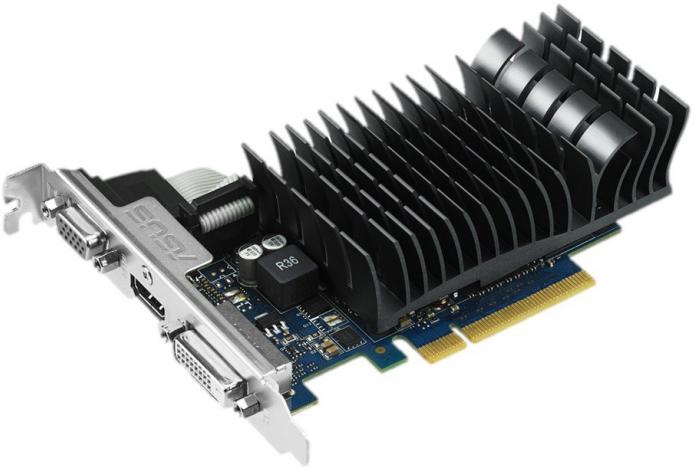 Видеокарта nVidia GeForce GT730 ASUS PCI-E 2048Mb (GT730-SL-2GD3-BRK)