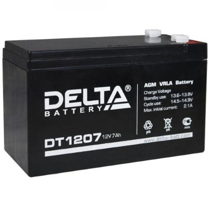 Аккумулятор DELTA герметичный свинцово-кислотный 12v7AH 1207DT