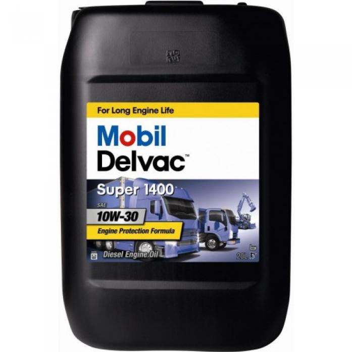 Масло моторное Mobil Delvac Super 1400 10W30 диз. мин. (20л)