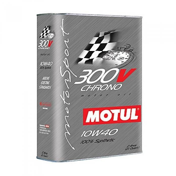 Моторное масло Motul 300 V Chrono 10W40 2л - фото 5