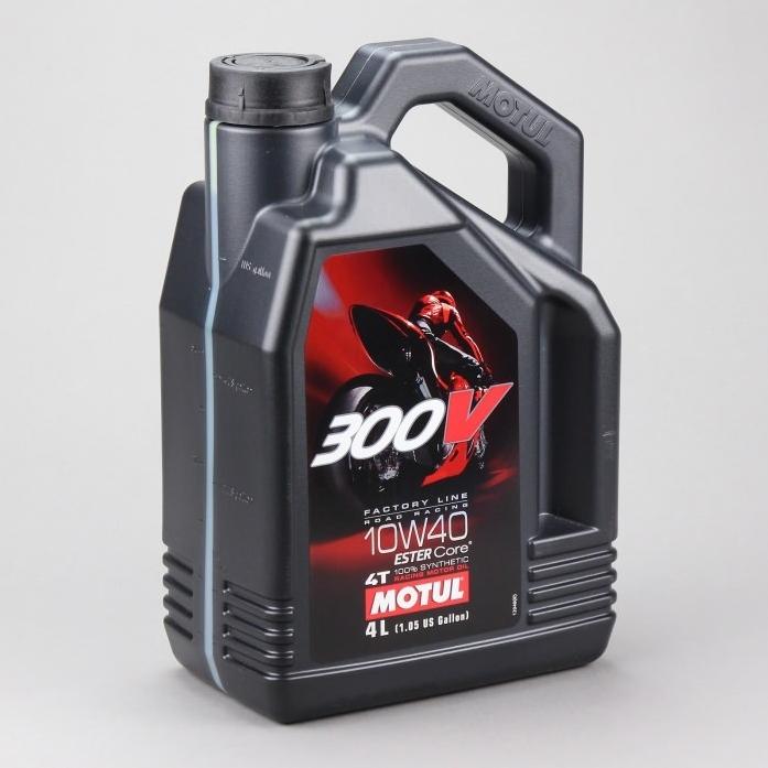 ����� �������� MOTUL 300V 4T FL Road Racing 10w40 4� 104121