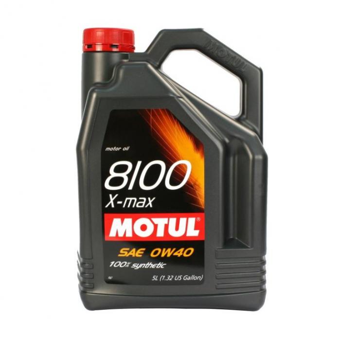 ����� �������� MOTUL 8100 X-max 0W40 API SN/CF, ACEA A3/B4 ����. (5�) 104533