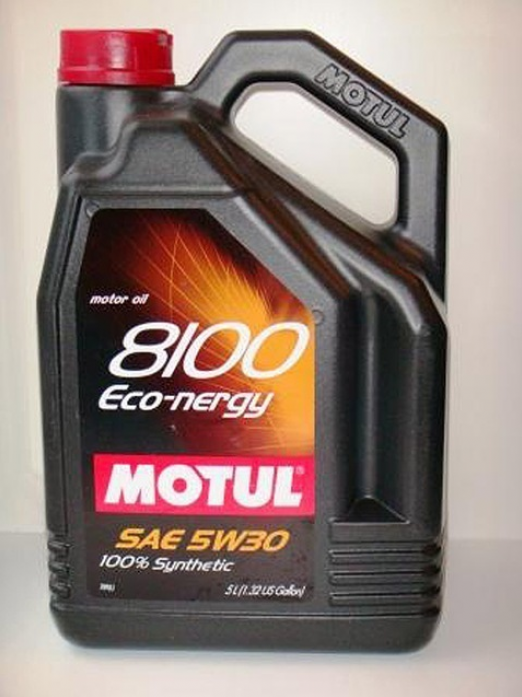 ����� �������� MOTUL 8100 Eco-nergy 5W30 5�. 102898