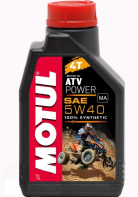 Масло моторное MOTUL ATV Power 4T 5W40 синт для квадроциклов (1л) 105897