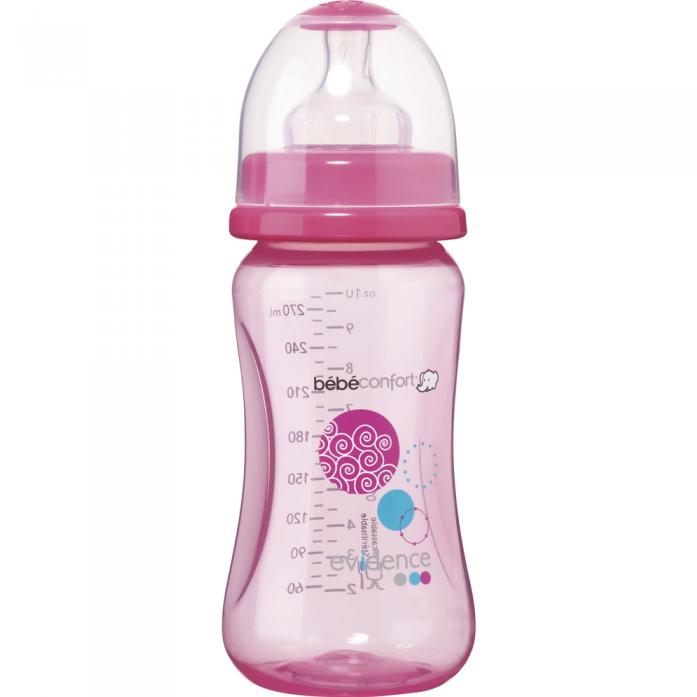 Бутылочка Bebe Confort Maternity 270 мл 0-12 мес розовый 30000928
