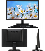"Монитор Philips 21.5"" 223V5LSB/01(00) Black"