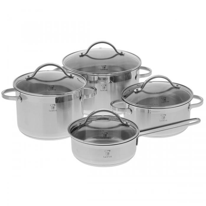 Набор посуды Larakook LC-0103 Provance, 8 предметов