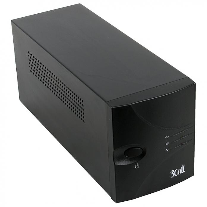 Источник бесперебойного питания 3Cott 3C-1500-MCSI 1500ВА 900Вт