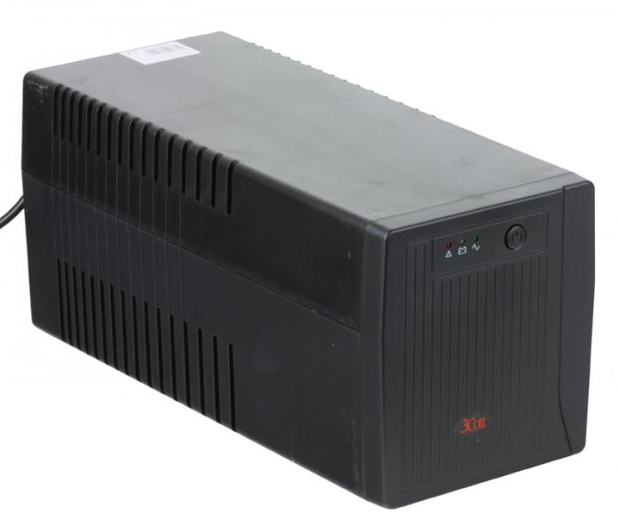 Источник бесперебойного питания 3Cott Micropower 1000VA/600W 2IEC 2Shuko 2