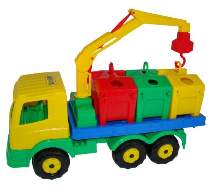 Автомобиль-контейнеровоз Полесье Престиж 44181