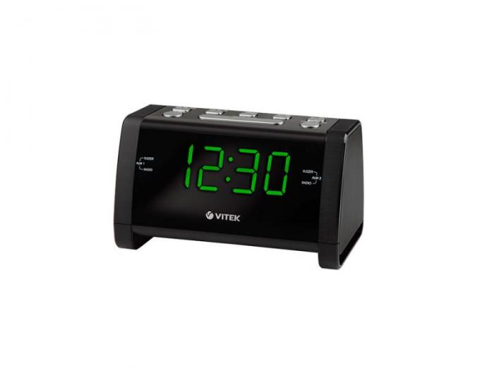 Радиочасы Vitek VT-6608 Black