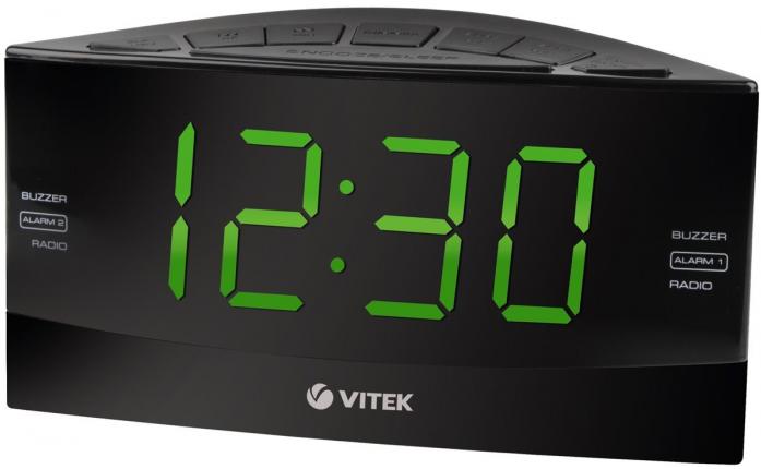 Радиочасы Vitek VT-6603 Black