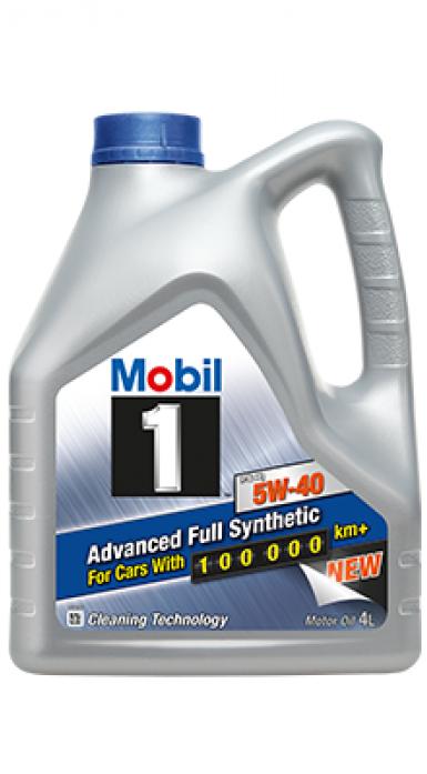 Масло моторное Mobil 1 FS X1 5W40 Синтетика (4л) 153265