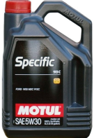 Масло моторное MOTUL Specific 5W30 913D Ford синт. (5л) 104560