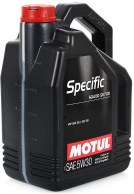 Масло моторное MOTUL Specific 5W30 VW 504.00/507.00 5л. 101476 (106375)