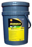 Масло моторное SHELL Rimula R6 LM 10W40 диз син (20л) 18215