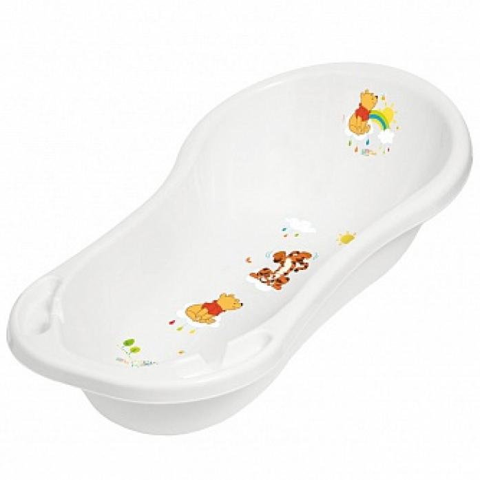 Ванночка детская со сливом ОКТ Винни Пух 100 см белый 1836