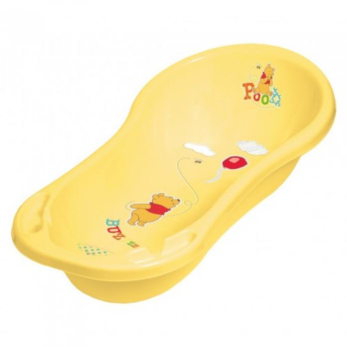 Ванночка детская со сливом ОКТ Винни Пух 84 см желтый 8703