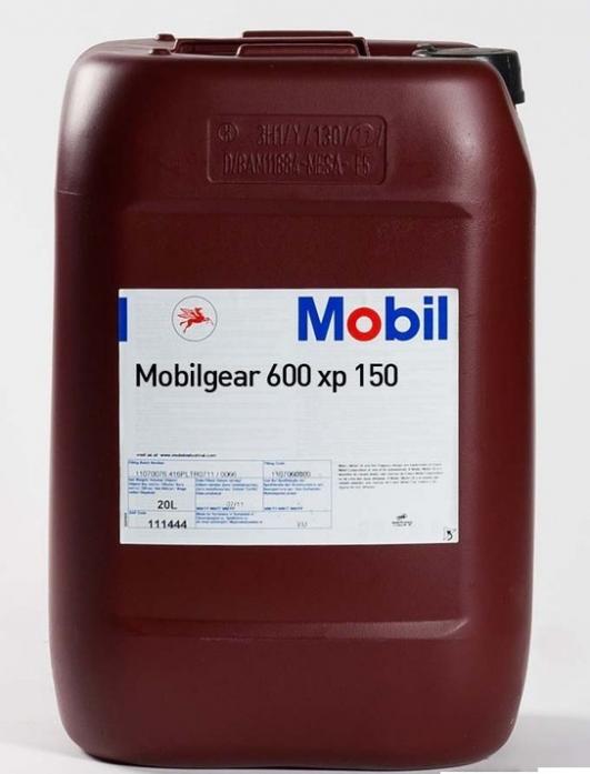 Масло трансмиссионное Mobil Mobilgear 600 XP 150 редукторное мин. (20л)