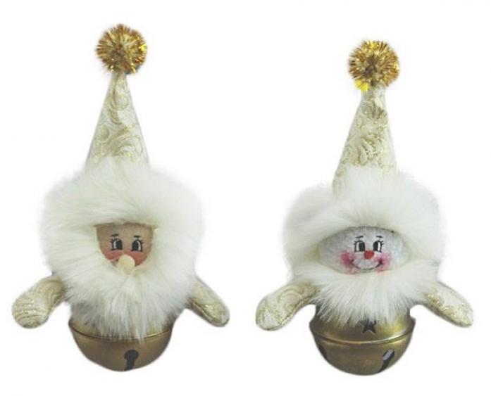 Новогодняя сказка Русские узоры 15 см золото 971992