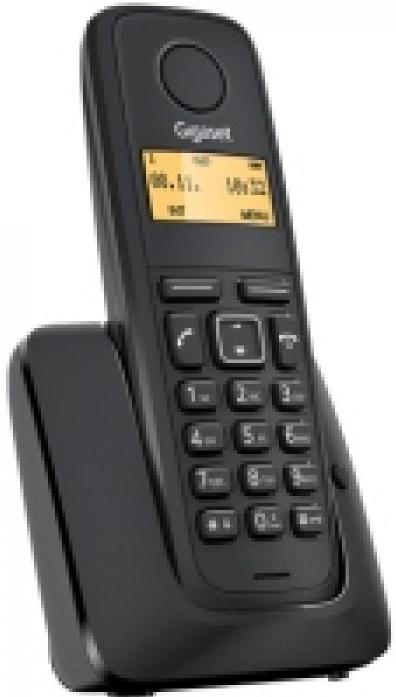 Телефон GIGASET A120A Black (DECT, автоответчик)