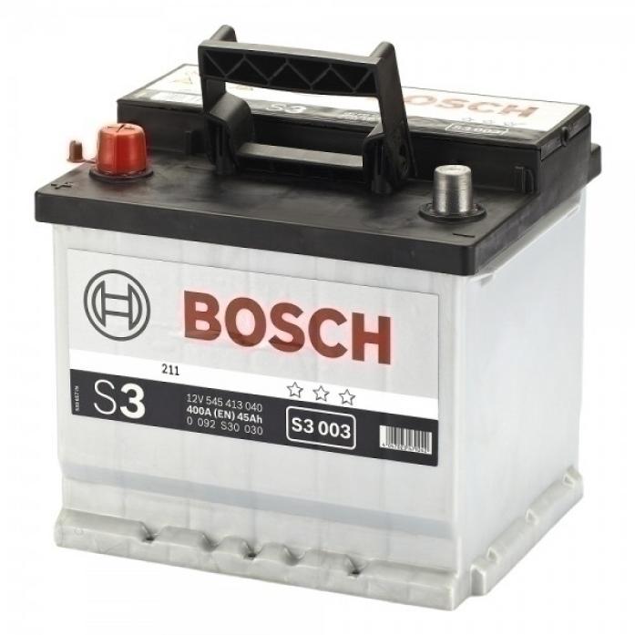 Аккумулятор Bosch 45 A/ч S30 03