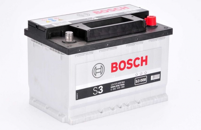 Аккумулятор Bosch 70 A/ч S30 08 обр