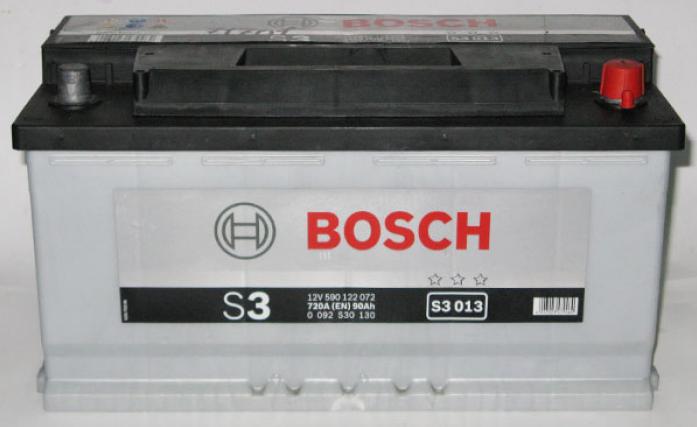 Аккумулятор Bosch 90 A/ч S30 13