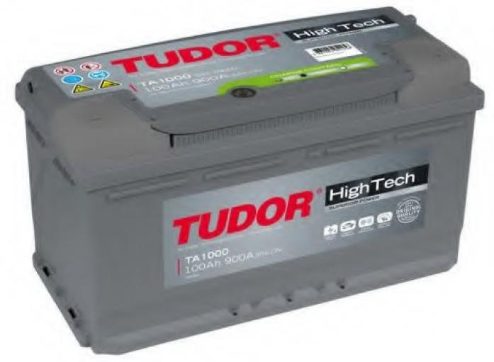 Аккумулятор Tudor High-Tech 100 А/ч TA1000 ОБР