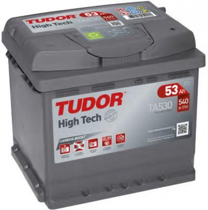 Аккумулятор Tudor High-Tech 53 А/ч TA530 ОБР