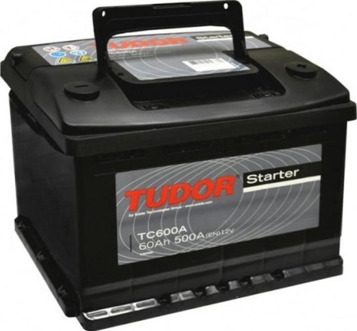 Аккумулятор Tudor Starter 60 А/ч TC600A ОБР