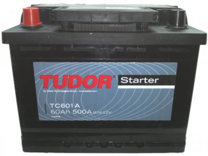 Аккумулятор Tudor Starter 60 А/ч TC601A