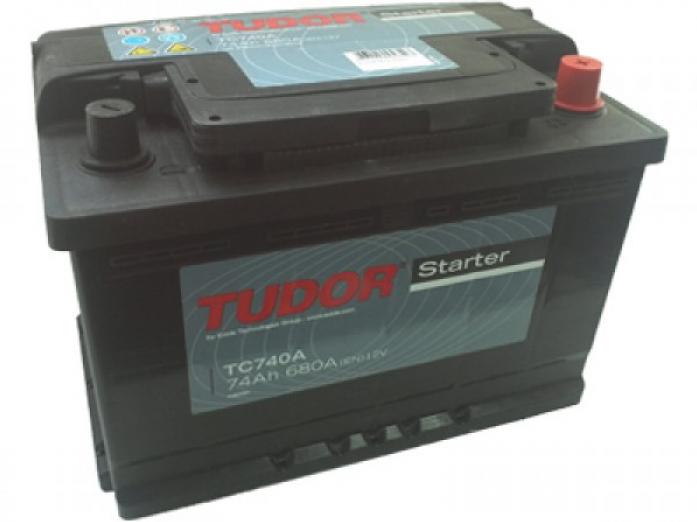 Аккумулятор Tudor Starter 74 А/ч TC741